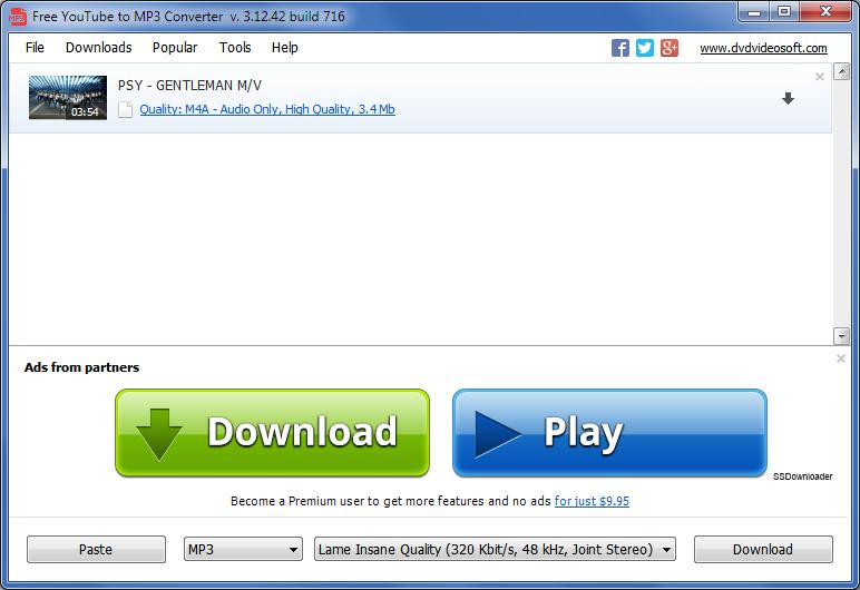 Free YouTube to MP3 Converter – kvalita stahované hudby